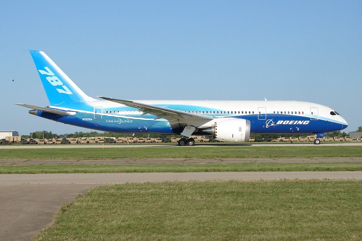 Photo of Boeing 787